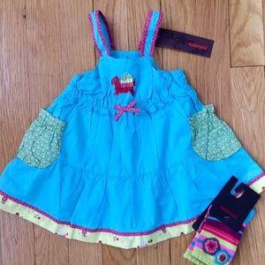 Catimini | Turquoise Dress